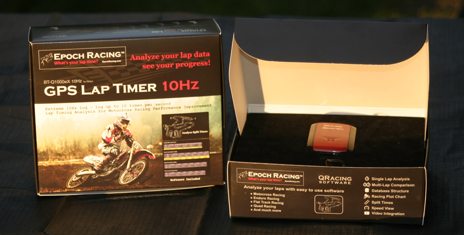 Motocross GPS Lap Timer - Gain the competitive edge!